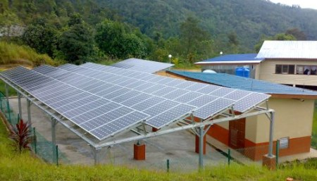 Solar Hybrid Power Plant Govt Project by Perunding Jayareka